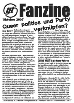 Fanzine Oktober 07